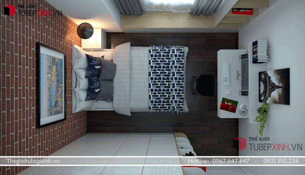 đơn vị thiết kế thi công nội thất phòng ngủ