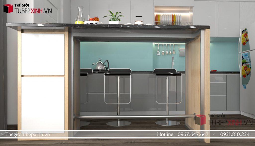 Làm tủ bếp MDF acrylic cao cấp ở đâu