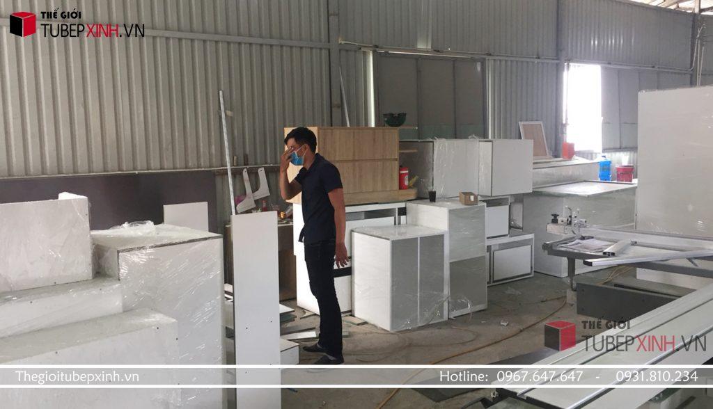 Xưởng thi công tủ bếp