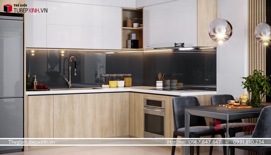 Thiết kế bố trí tủ bếp