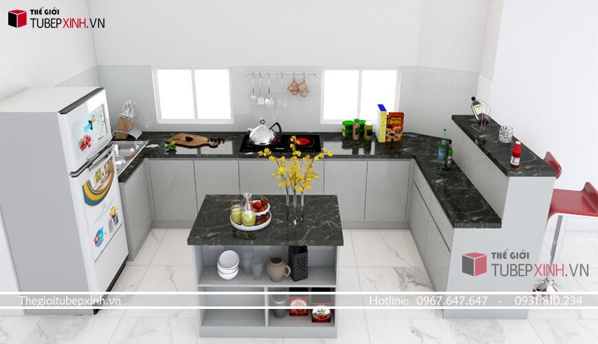 Đơn vị đóng tủ bếp chuyên nghiệp nhất tại tân bình