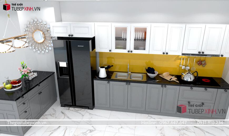 Thiết kế thi công đóng tủ bếp tại phú quốc