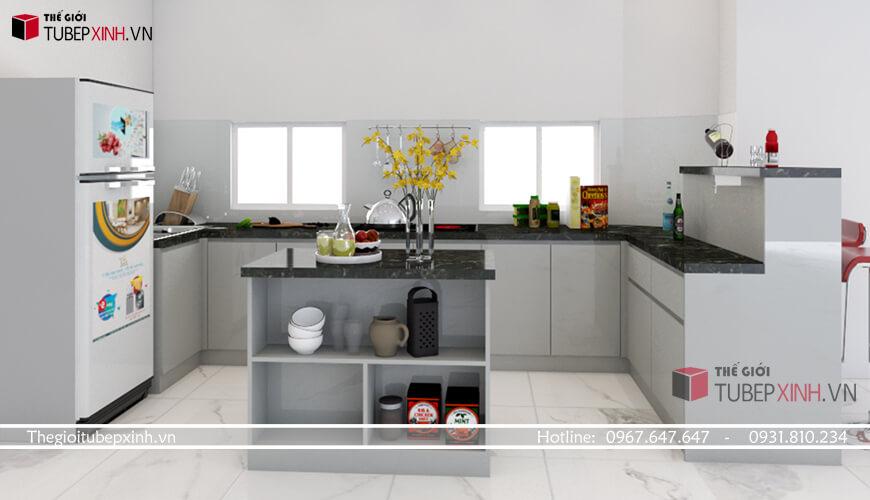 Thiết kế thi công tủ bếp đẹp tại hcm