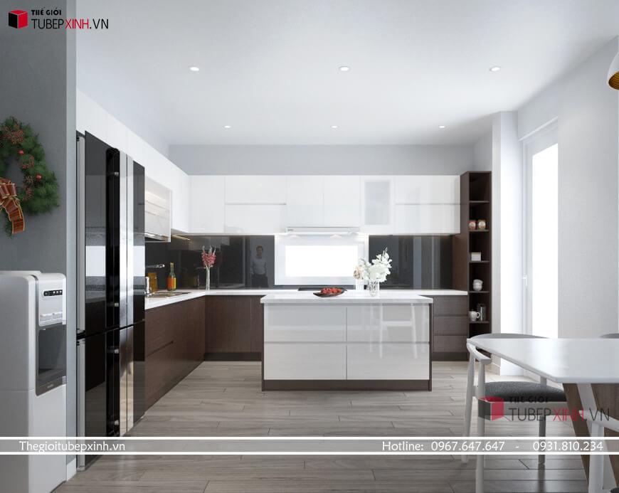 Đơn vị thiết kế thi công tủ bếp