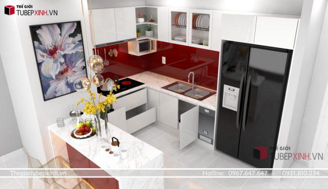 Chuyên thiết kế thi công tủ bếp quận bình thạnh