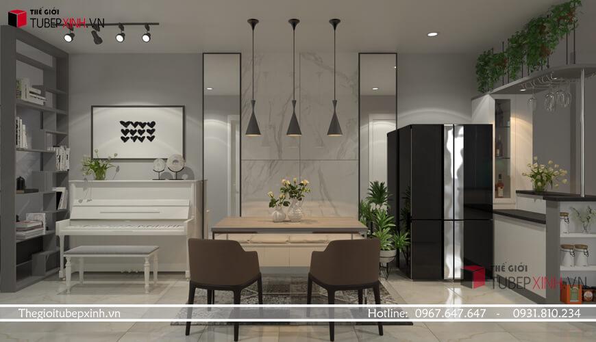 Thiết kế thi công nội thất chung cư topaz elite
