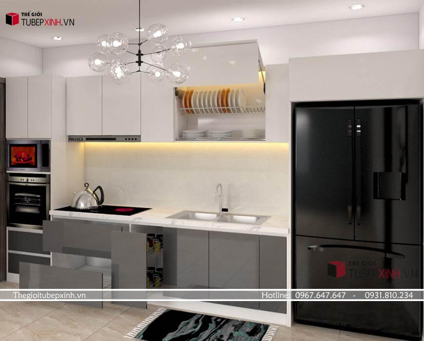 Thiết kế thi công tủ bếp quận tân bình