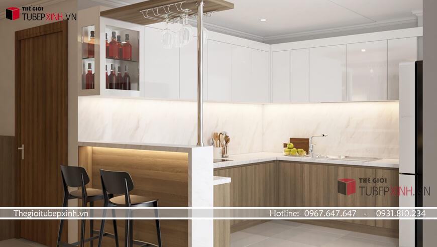 Thiết kế tủ bếp quận phú nhuận