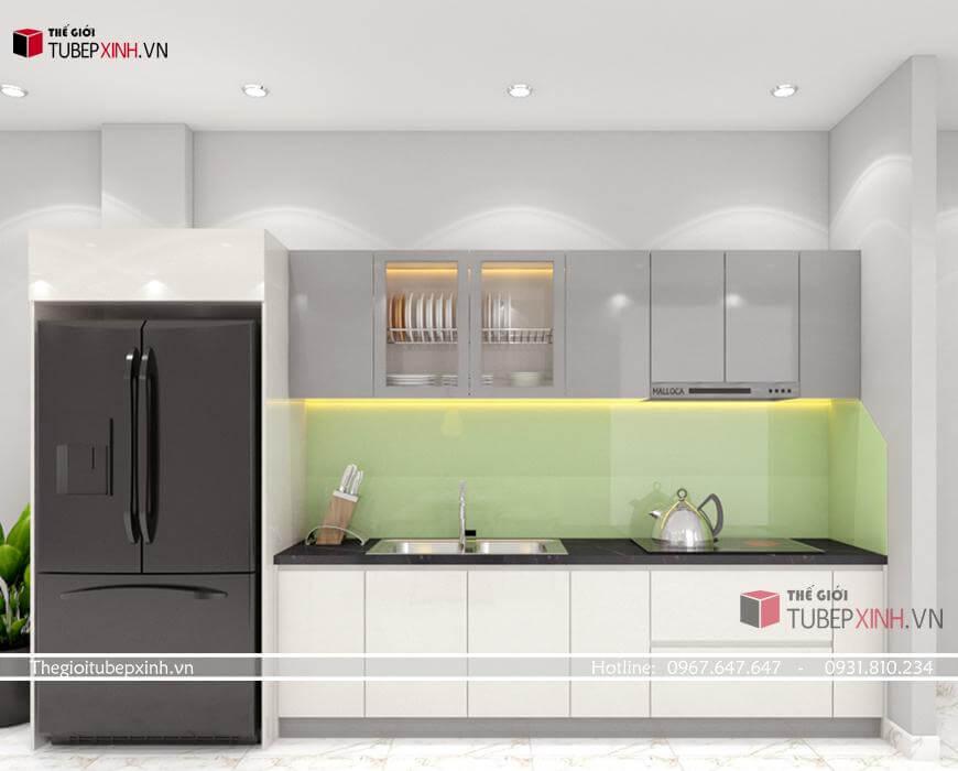 chuyên thiết kế đóng các mẫu tủ bếp hiện đại