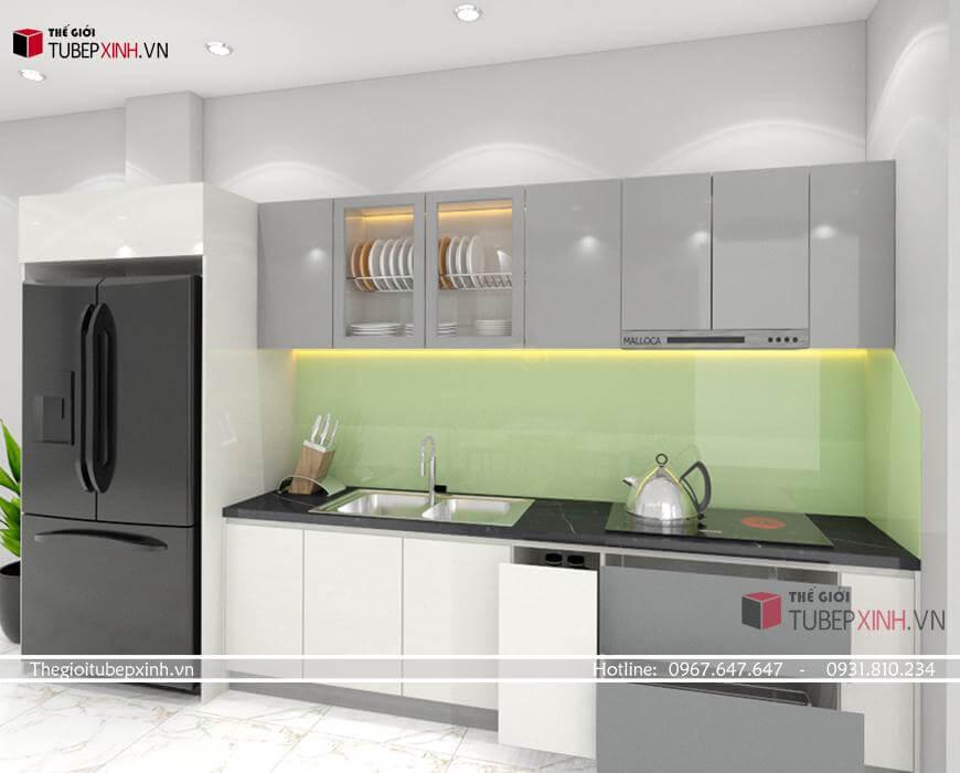 Thiết kế thi công chuyên đóng tủ bếp tại bình dương