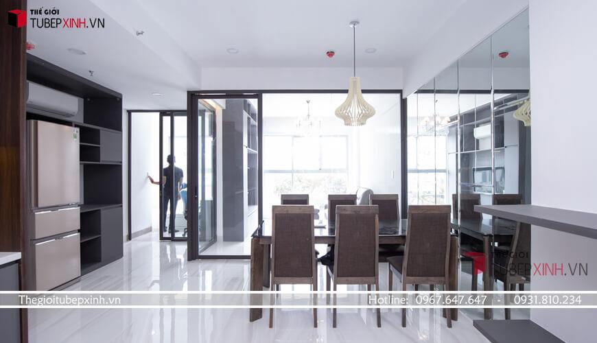Không gian bếp đẹp đáp ứng nhu cầu cho gia chủ