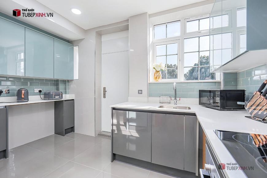 Tủ bếp tại Hậu Giang với thiết kế hiện đại theo yêu cầu