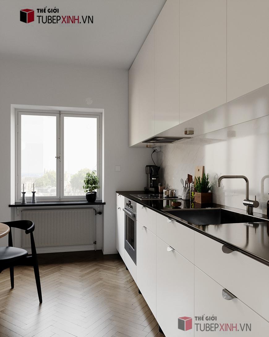 Đơn vị đóng tủ bếp đẹp cao cấp gỗ công nghiệp mẫu mã đẹp nhất