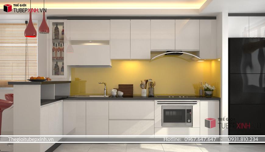 Tủ bếp hiện đại 2020